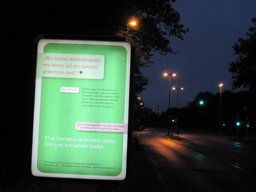 Demenz Plakate